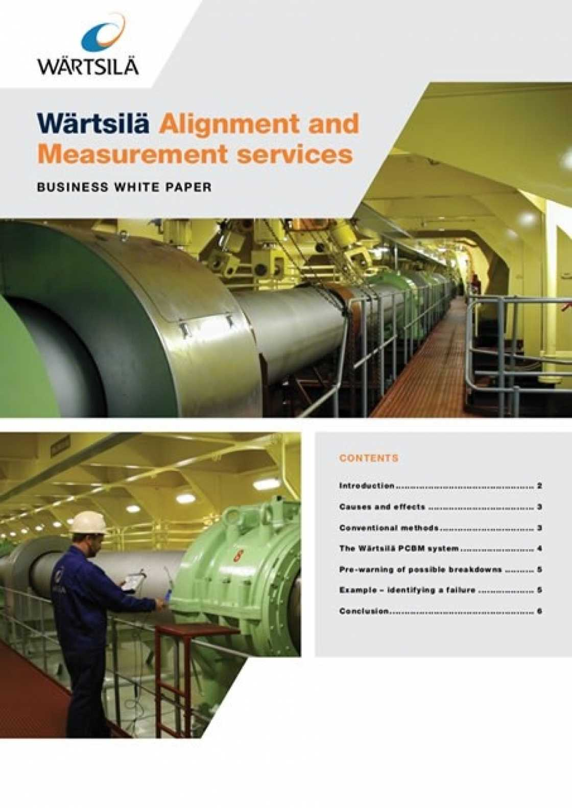 Whitepaper: Alignment and Measurement services - Wärtsilä