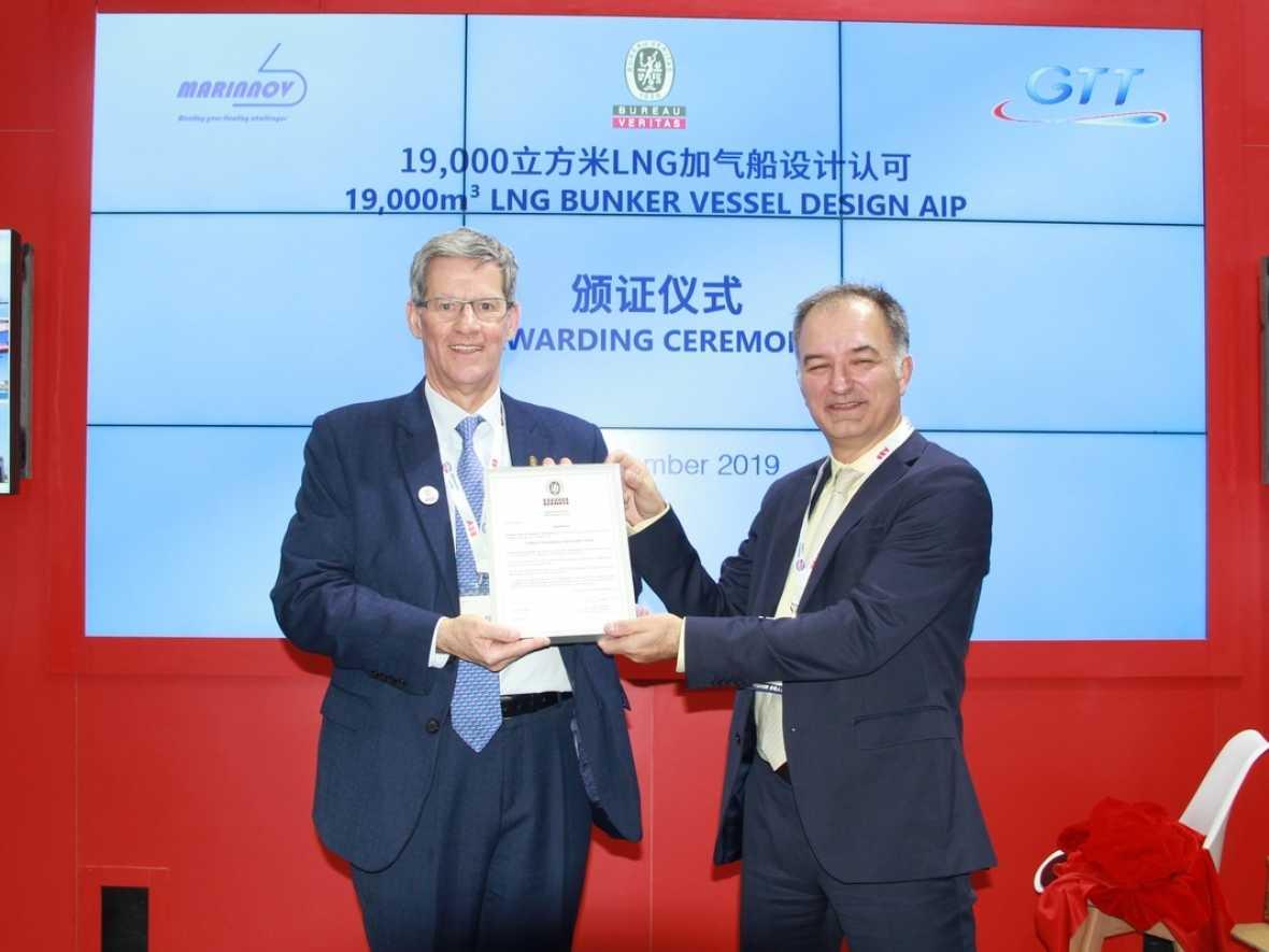 BV grants AiP for Quadelprop LBG bunker vessel