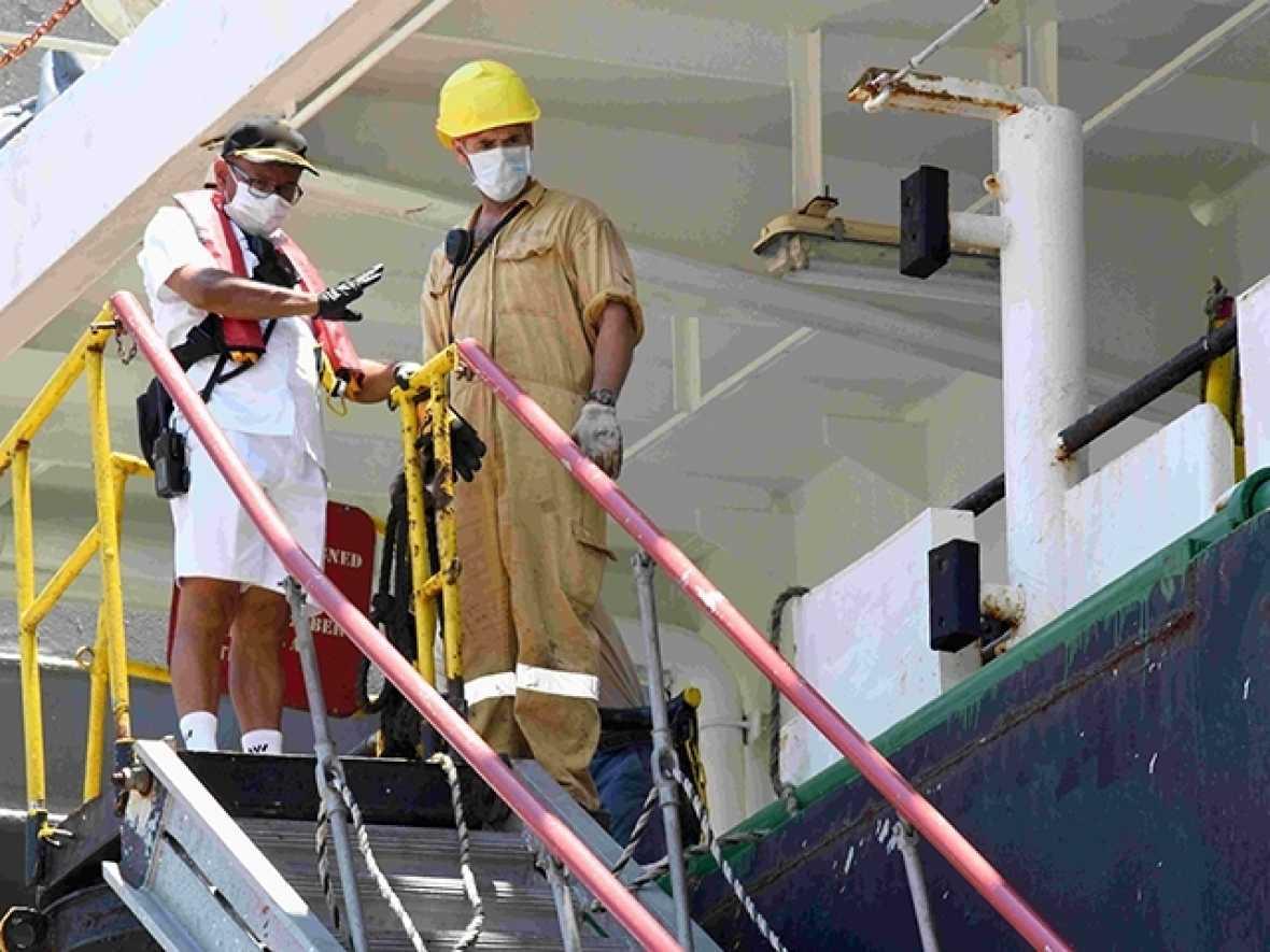 IMO welcomes progress on crew changes