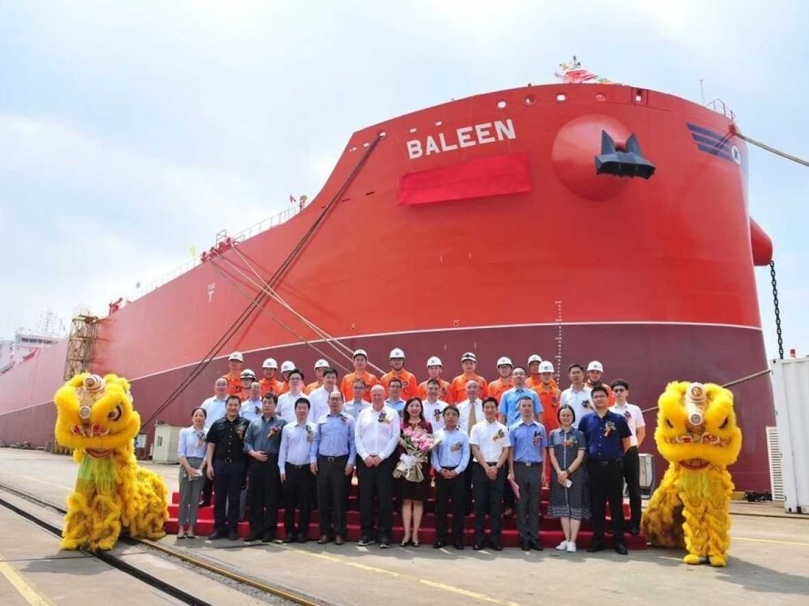 Klaveness takes delivery of fourth CLEANBU combination carrier