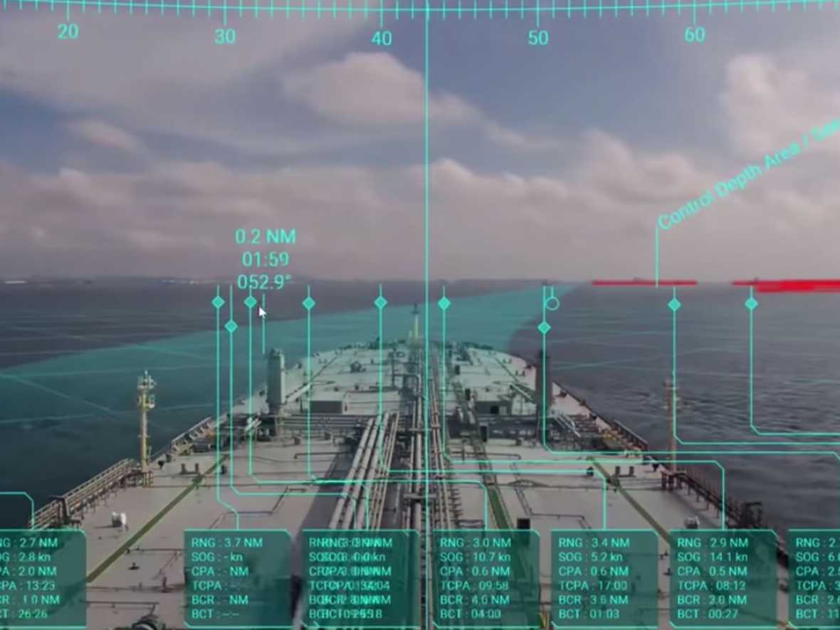 AR navigation systems for 21 MOL VLCCs