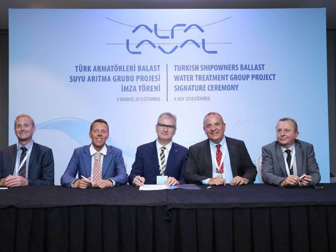 Alfa Laval nets orders from Turkish owners' association