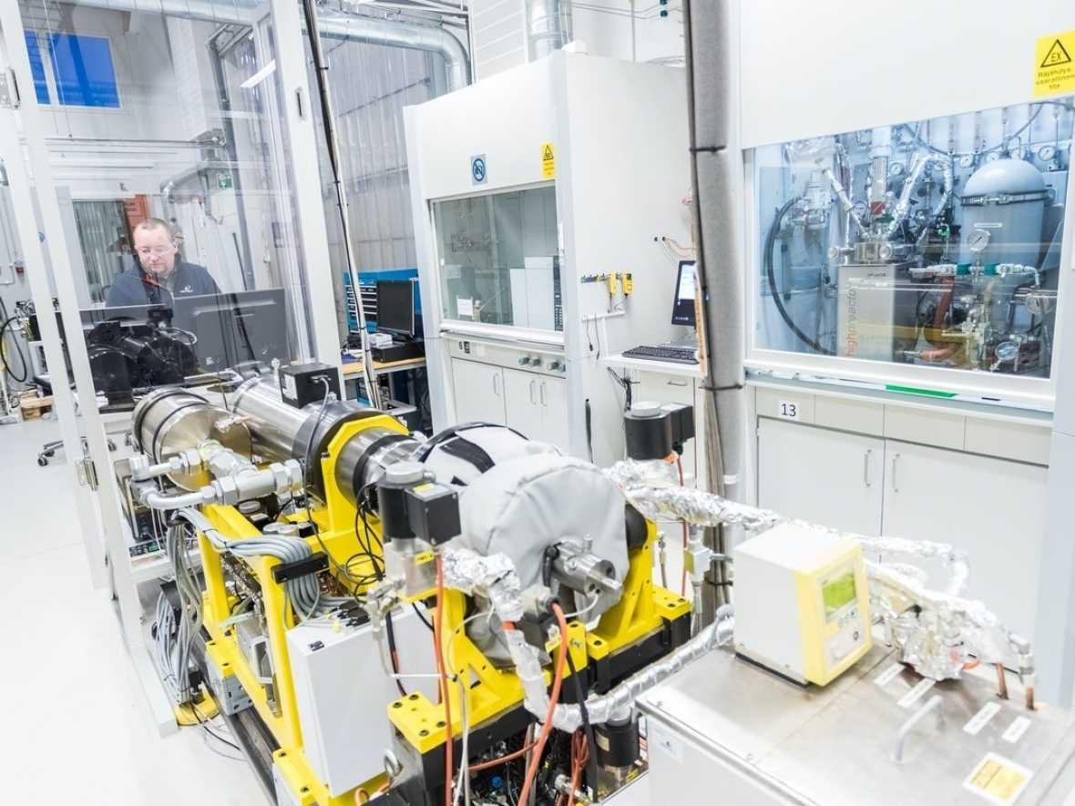 Wärtsilä makes first ammonia fuel tests