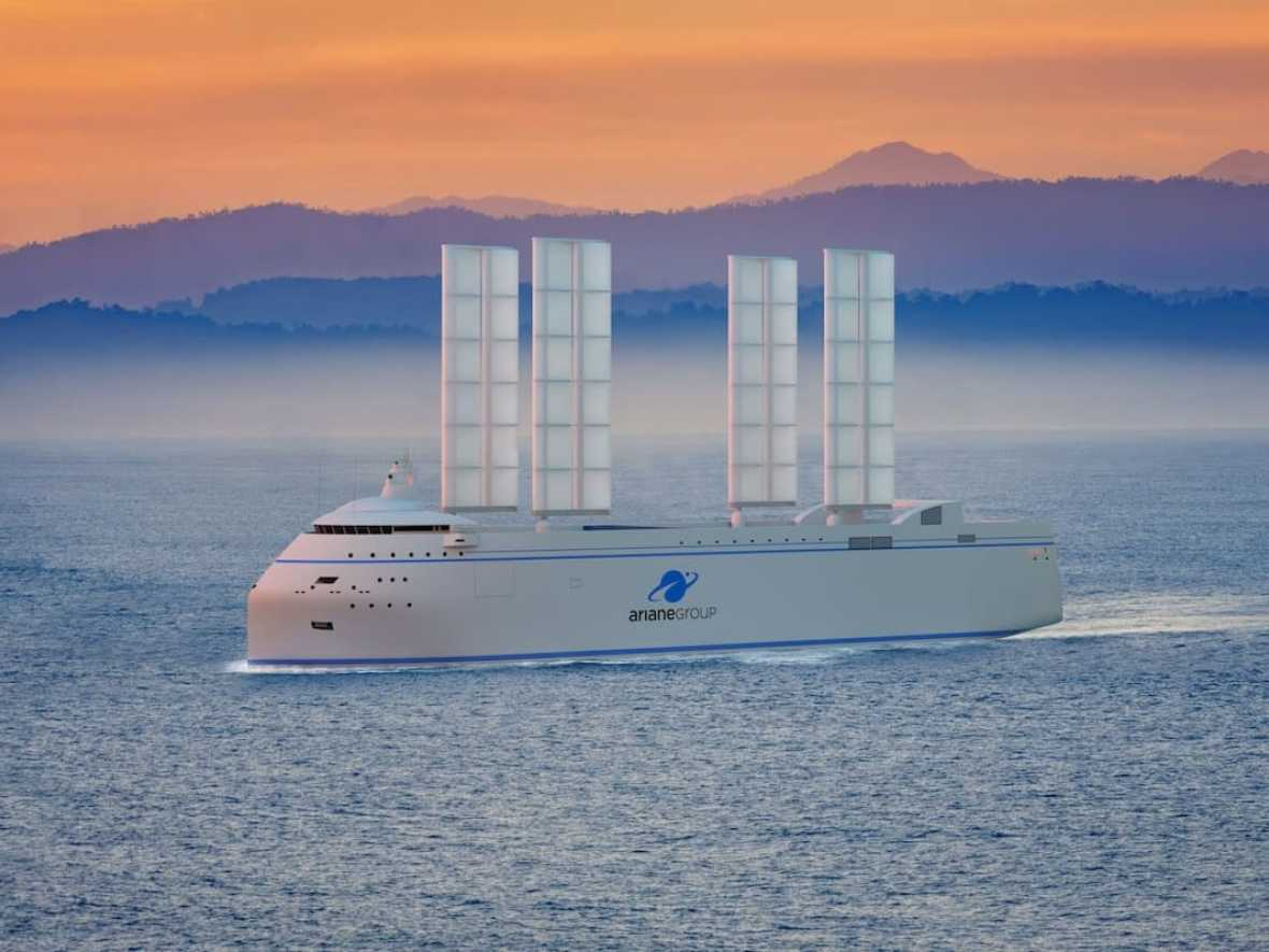 French yacht designer moves into commercial wind-powered shipping