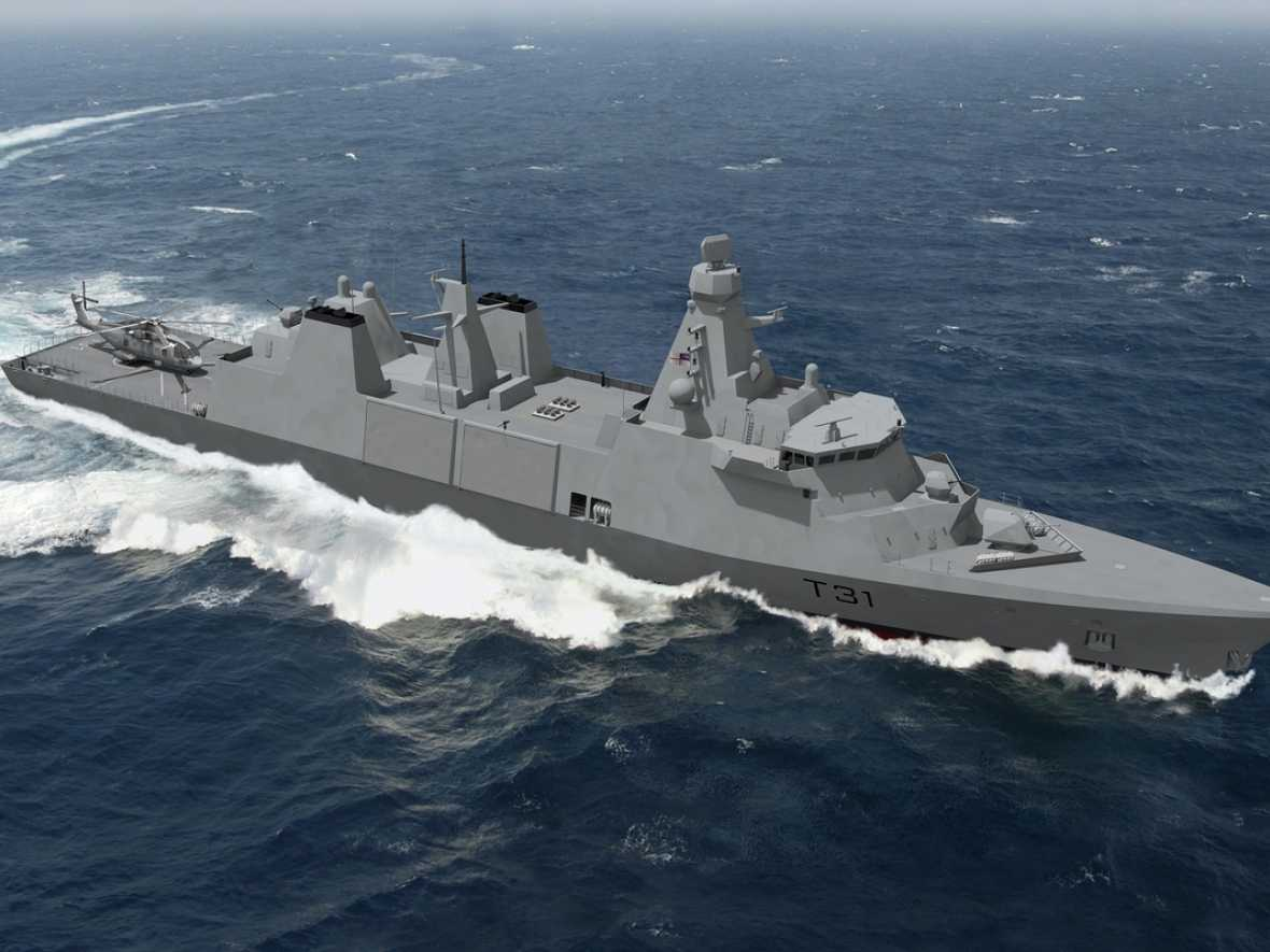 MAN wins propulsion order for Royal Navy frigates