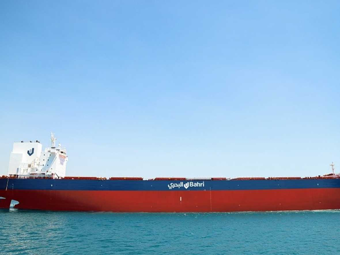 Bahri takes over first of four new bulkers