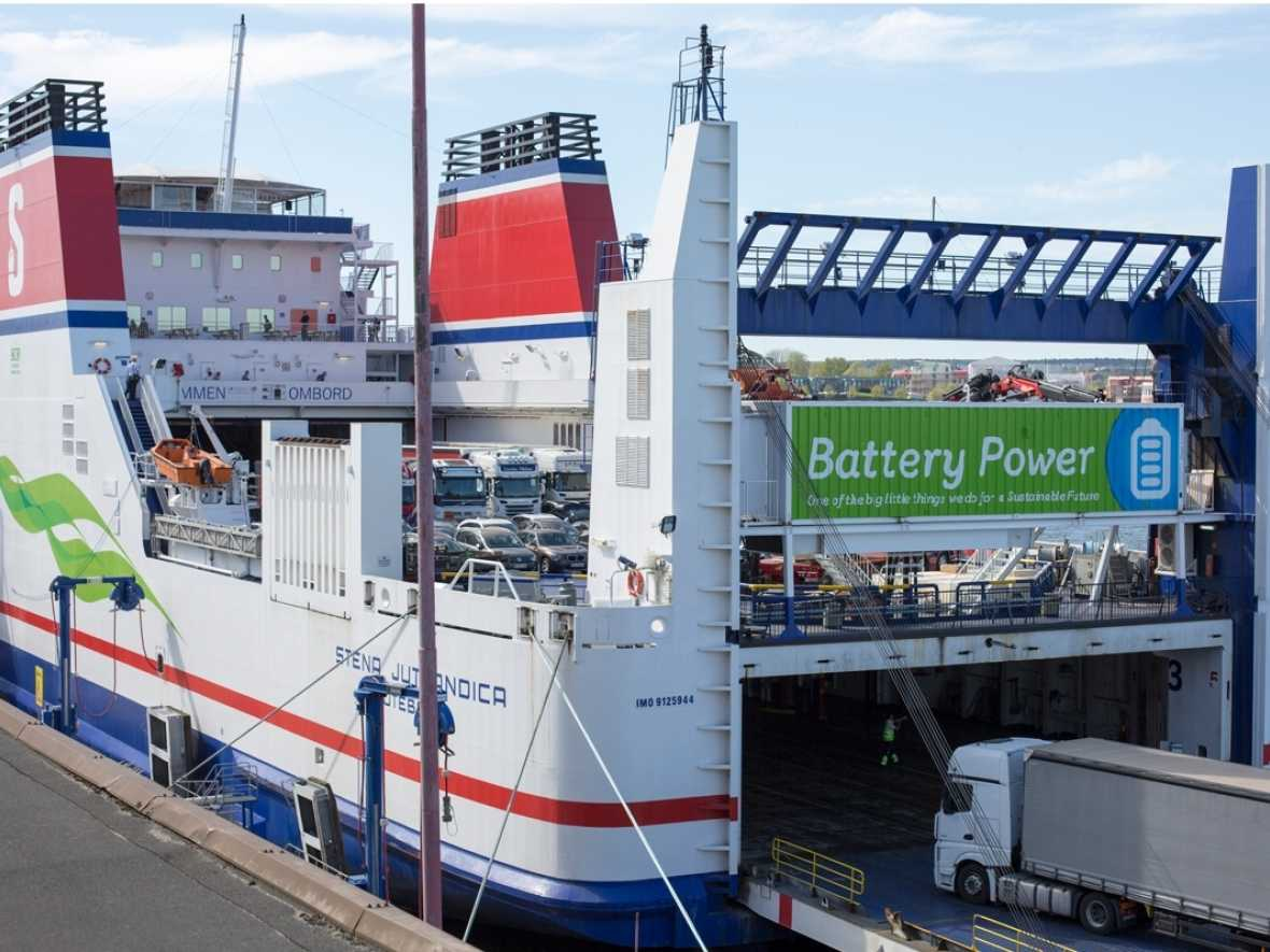 Stena plans new life for old batteries as port power packs