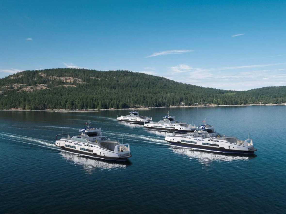 BC Ferries opt for four more Damen hybrids