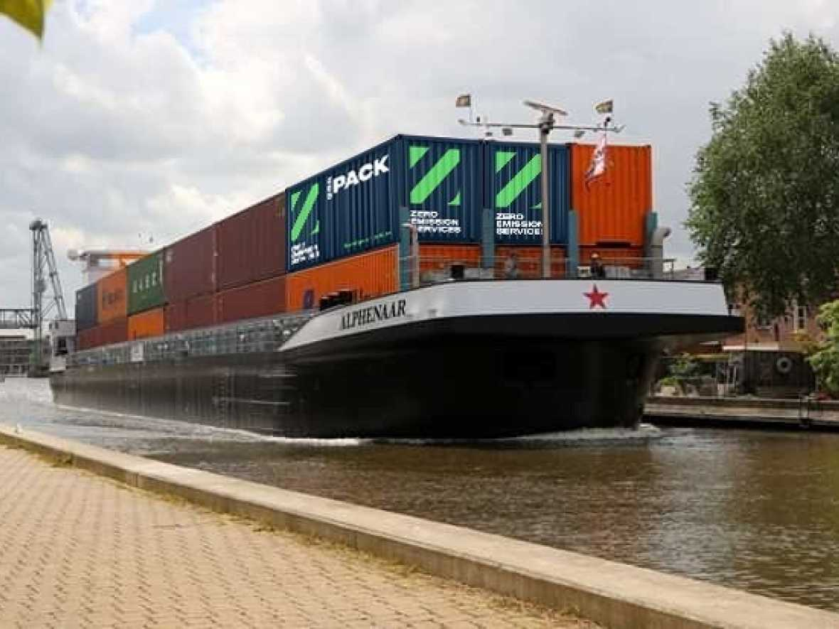 Wärtsilä and partners develop emissions-free barge concept