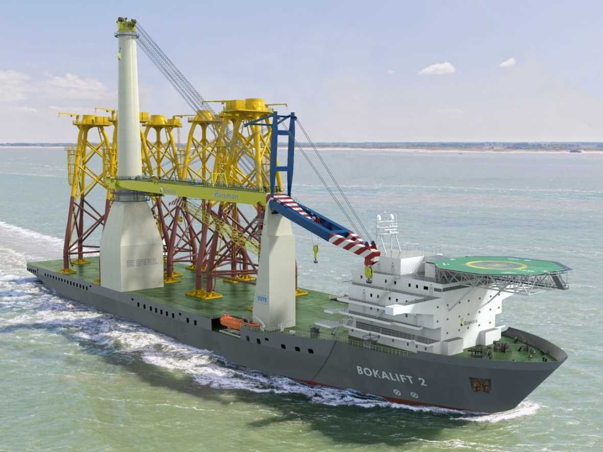 Crane ship conversion to feature Wärtsilä thruster