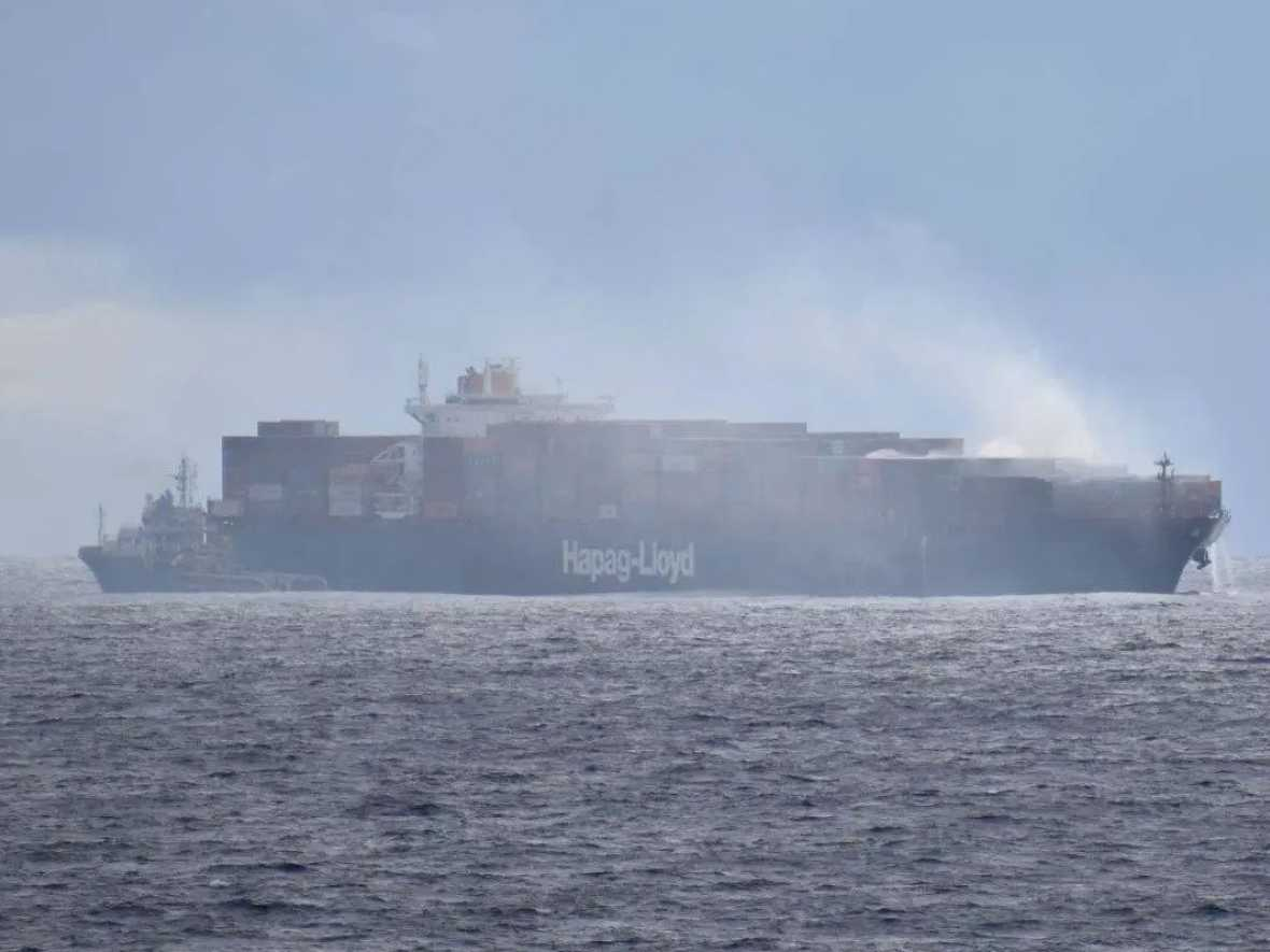 Insurers call for IMO action on box ship fires