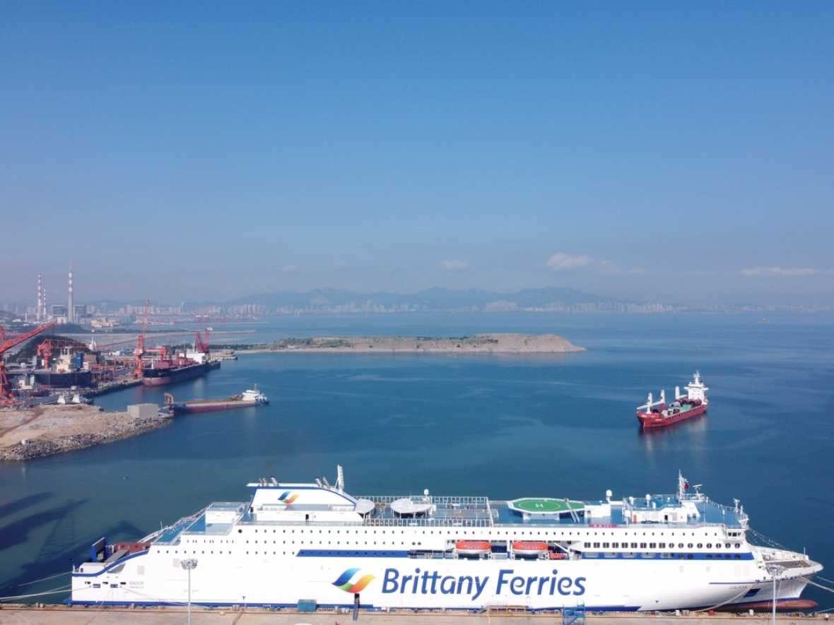Brittany Ferries takes Galicia as first E-Flexer