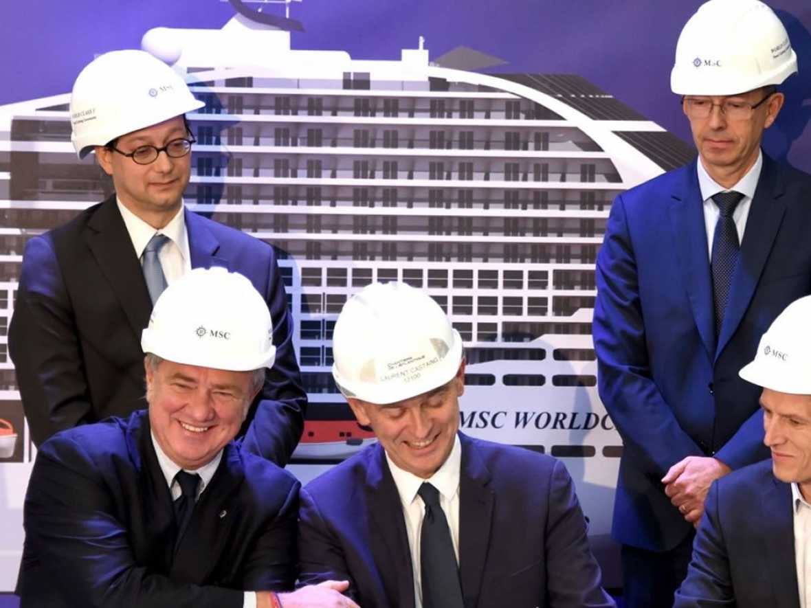 Chantiers to fit fuel cell on MSC Europa