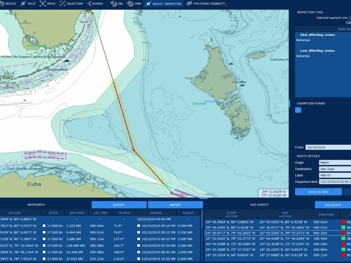 ChartWorld and EMH Systems link to offer environmental compliance voyage planning