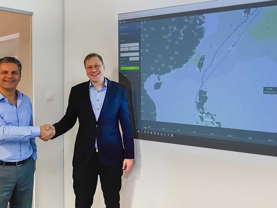 NAPA and ChartWorld tie up to offer AI voyage optimisation