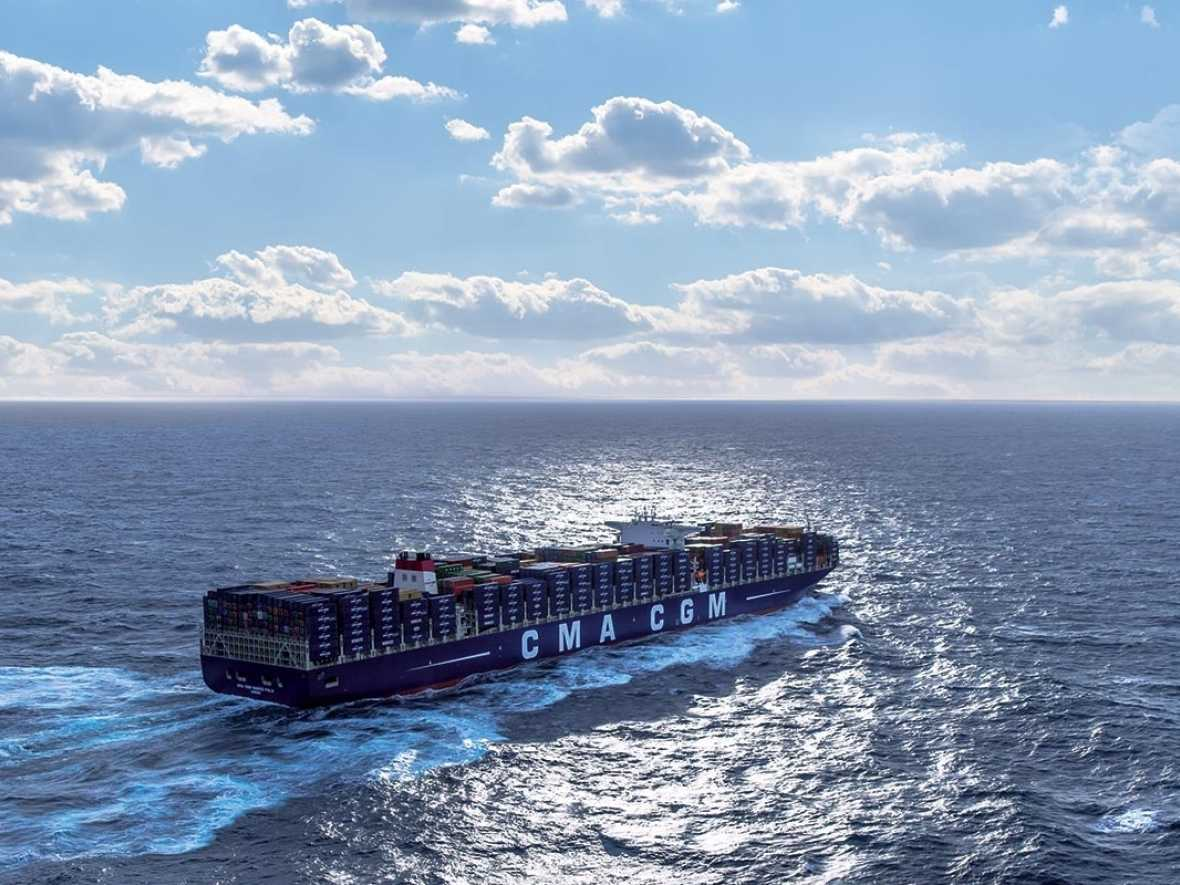 CMA CGM Jacques Saade delivered as first gas-fuelled ULCS