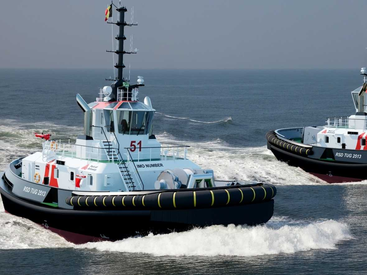 Damen to supply Antwerp with pair of RSD Tugs