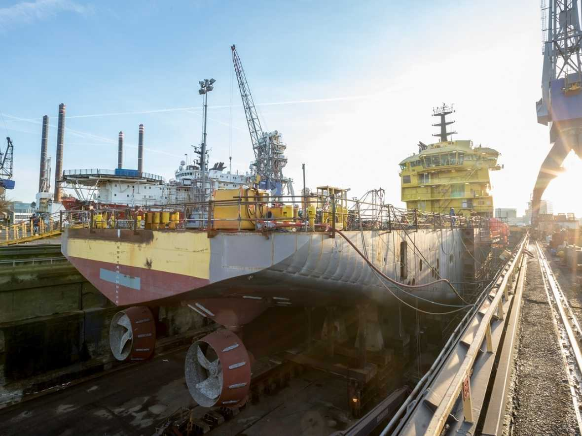 Damen converting PSV into fish feed carrier for Eidsvaag