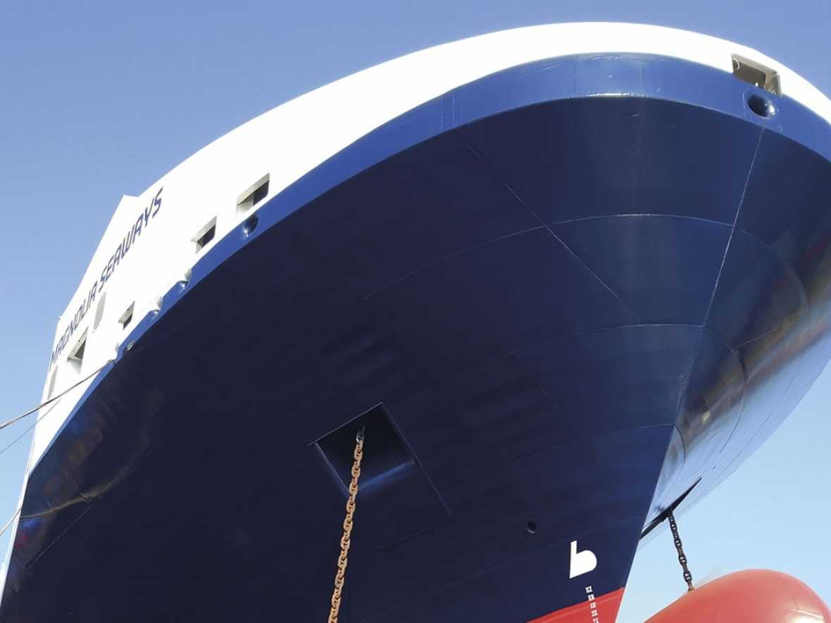 New coat keeps DFDS on green course