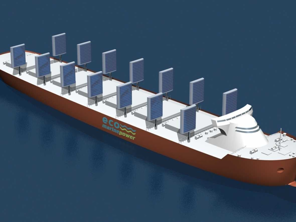 Eco Marine Power study plans renewables package for LR2 tanker