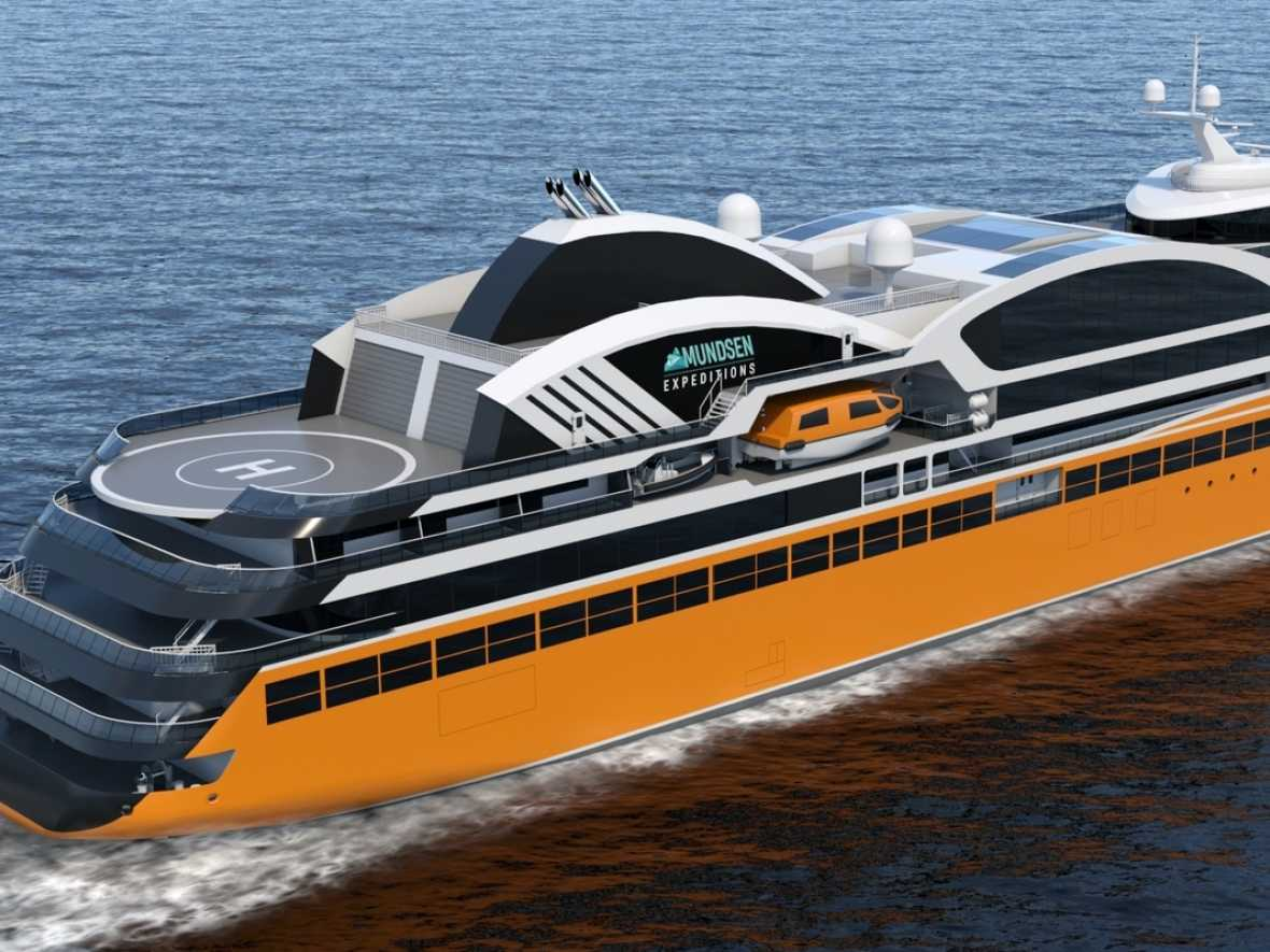 Wärtsilä wins design contract for expedition cruise ships