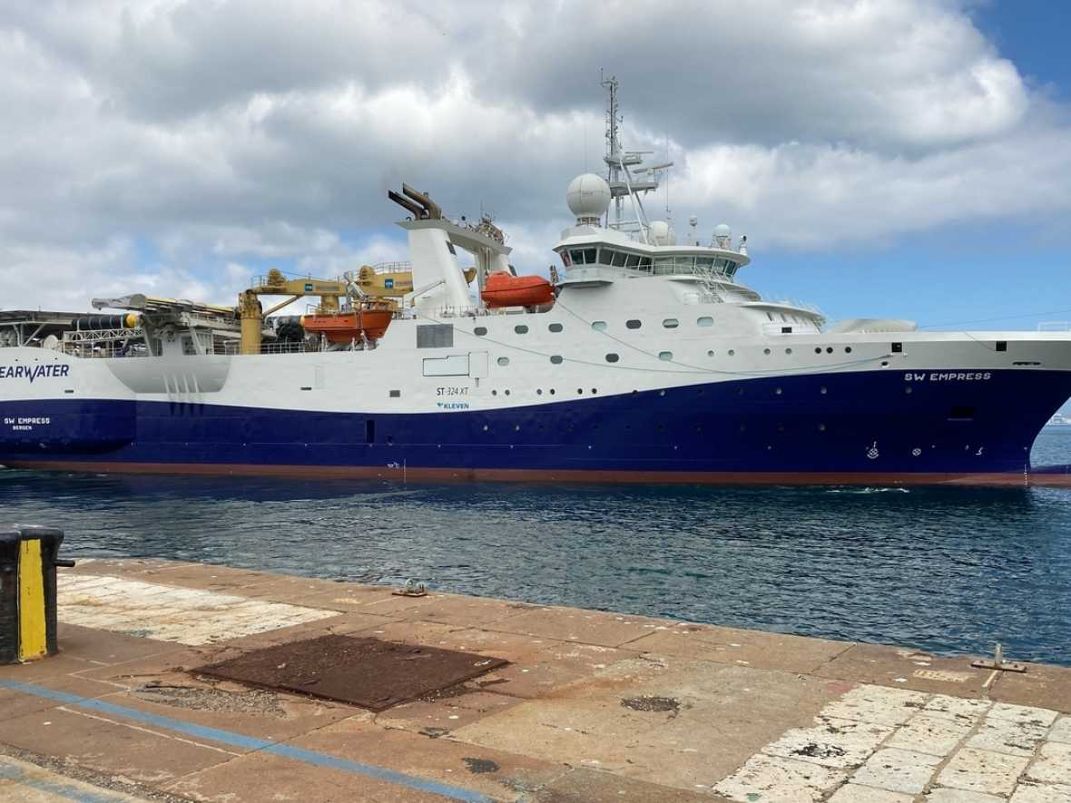 Gibdock services survey vessels in testing times
