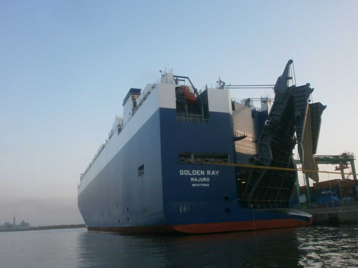 USCG to livestream public hearing for Golden Ray capsizing