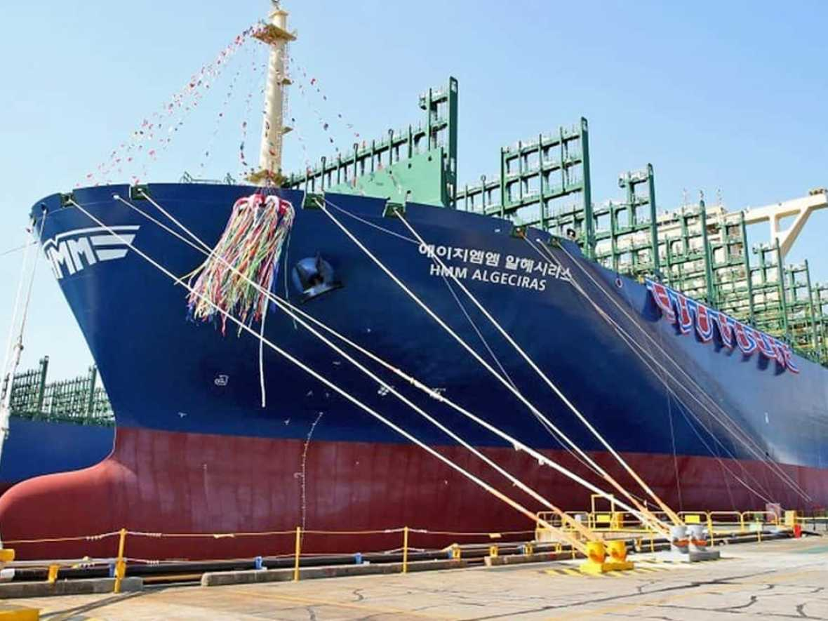HMM names world's largest box ship