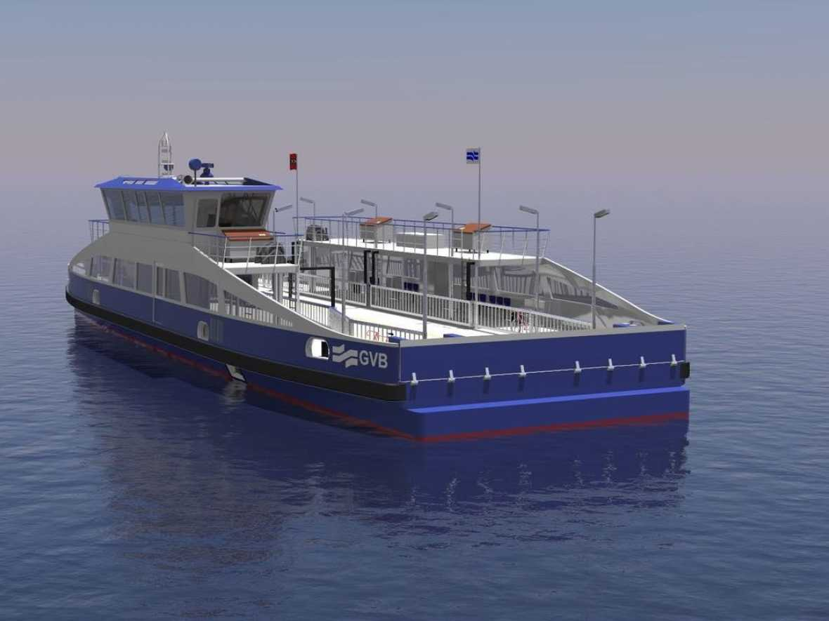 Holland Shipyards Group wins five fully-electric ferries deal