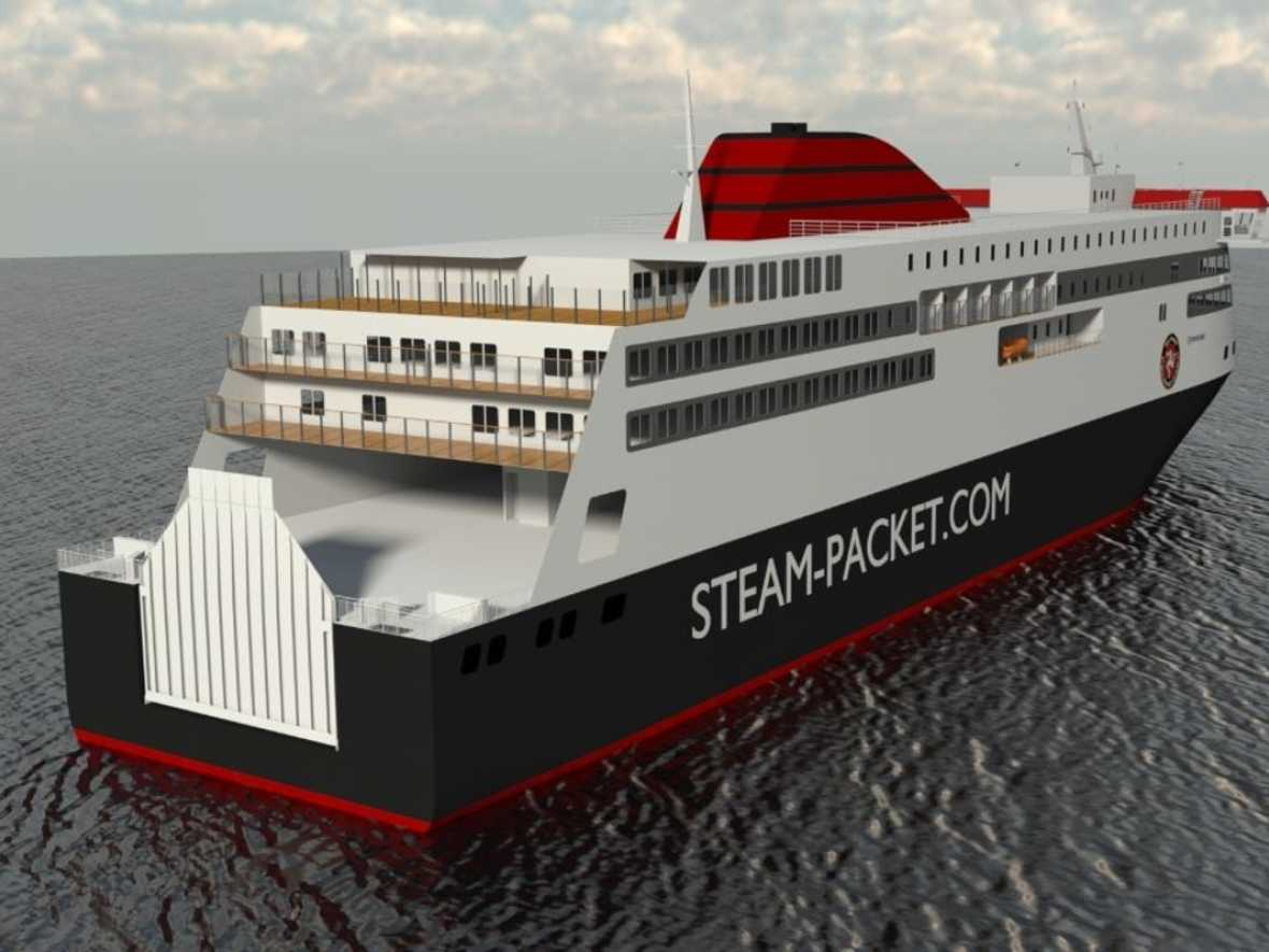 IOM chooses Houlder again for new hybrid ferry