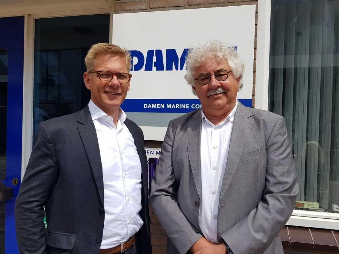 Damen adds hydraulics and expands anchor opportunities