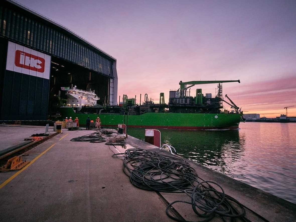 Royal IHC launch second innovative dredger