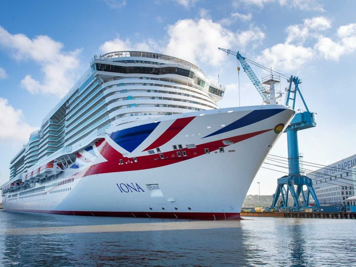 Meyer Werft delivers Iona as new P&O flagship
