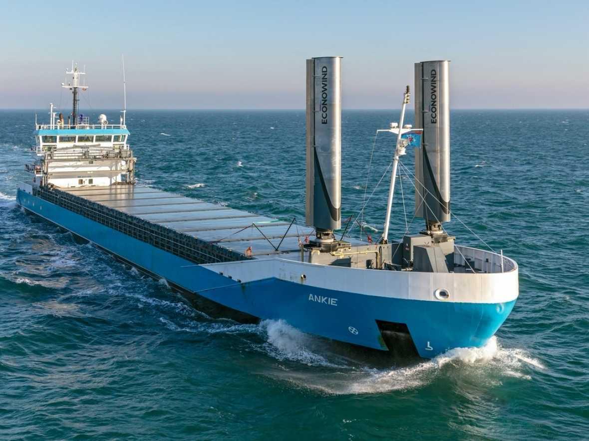 Ventifoil retrofit ship starts operation