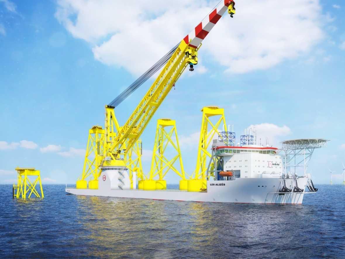 Jan de Nul orders new offshore wind giant