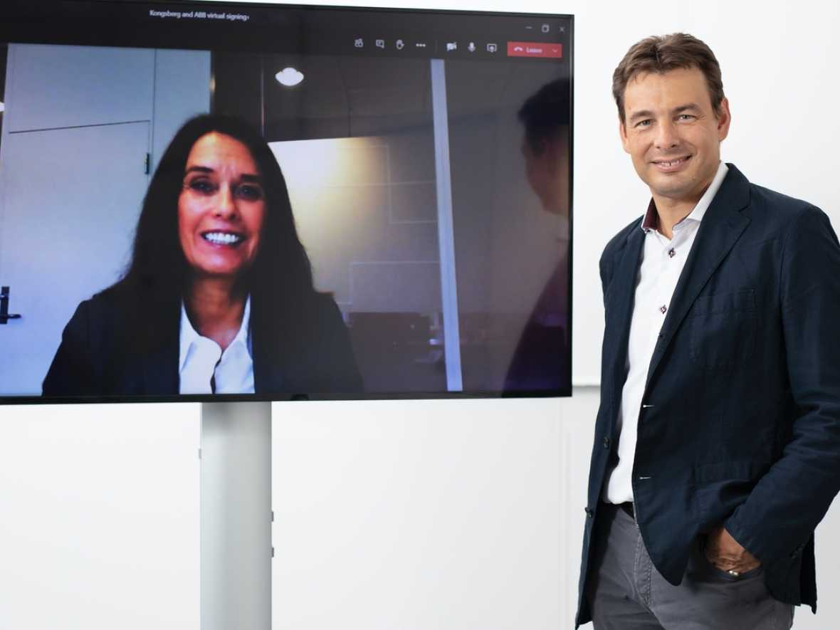 ABB and Kongsberg announce collaboration on edge data collection