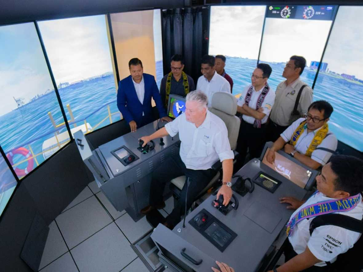 Wärtsilä LNG Bunkering Vessel Simulator enables first-of-its-kind hands-on training