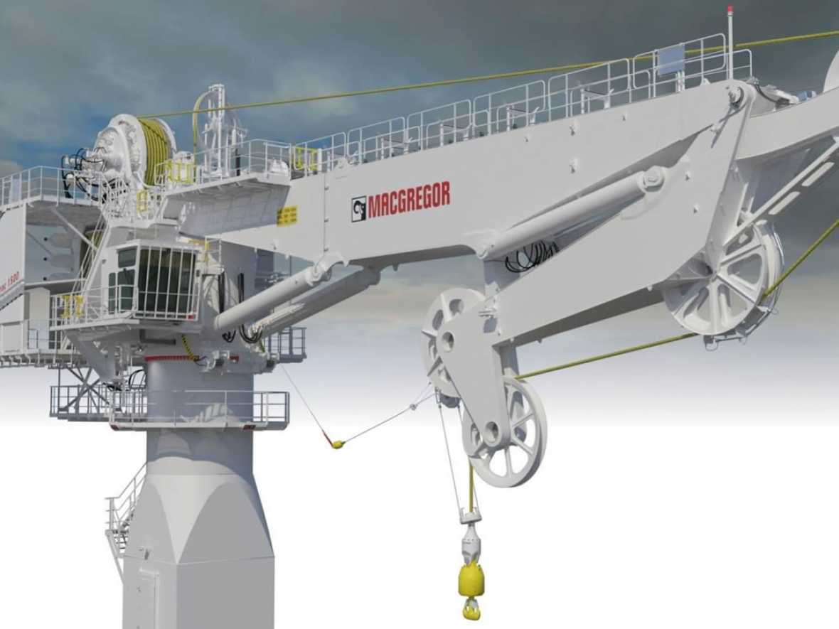 Fibre rope cranes offered to offshore sector