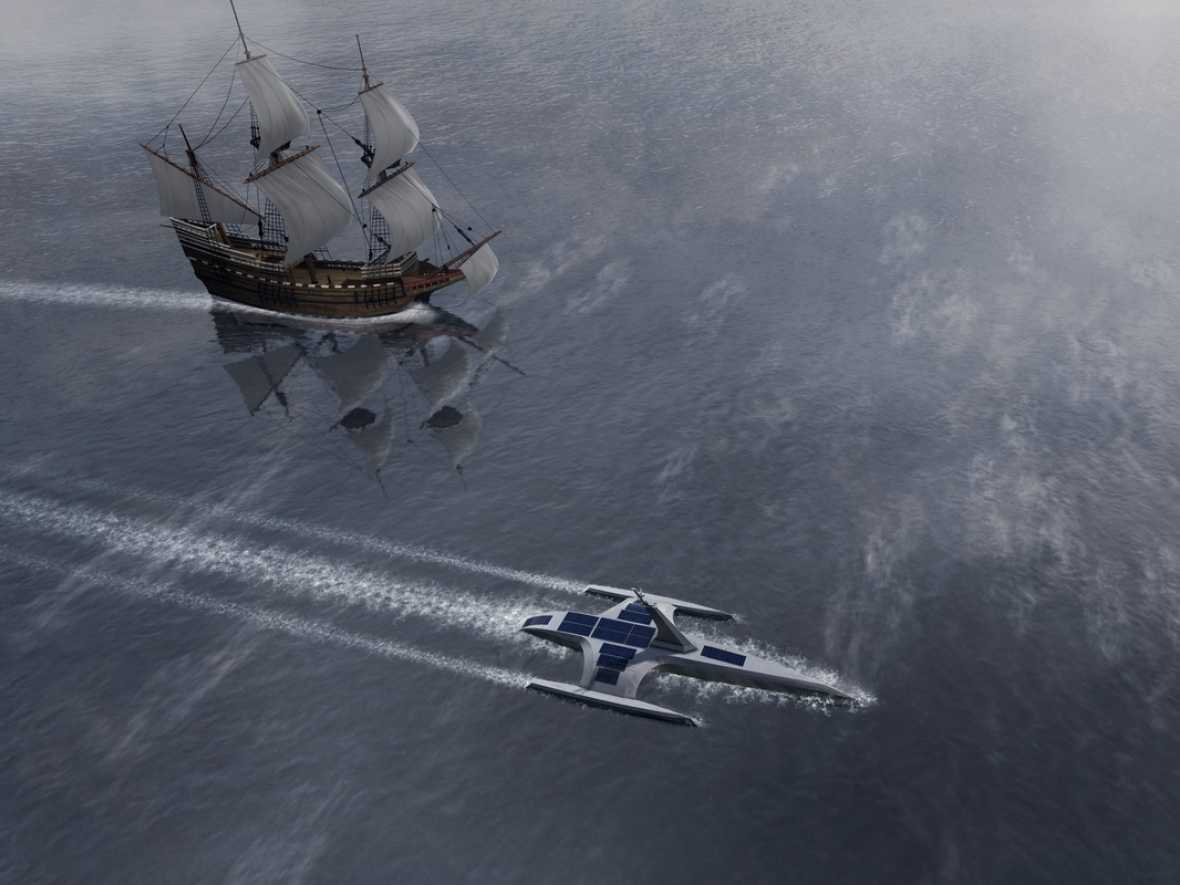 Trials start on Mayflower's AI system in readiness for historic transatlantic crossing