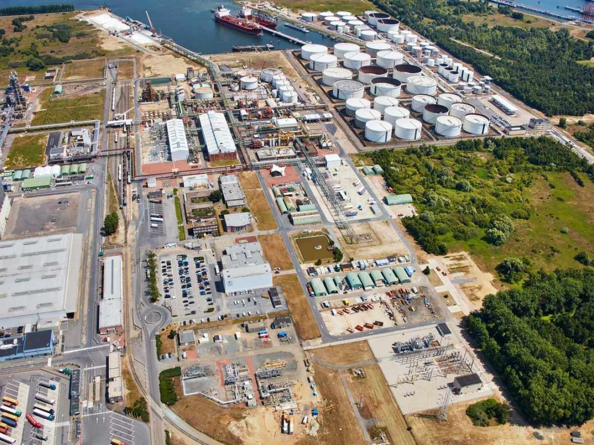 Methanol plant established in Antwerp
