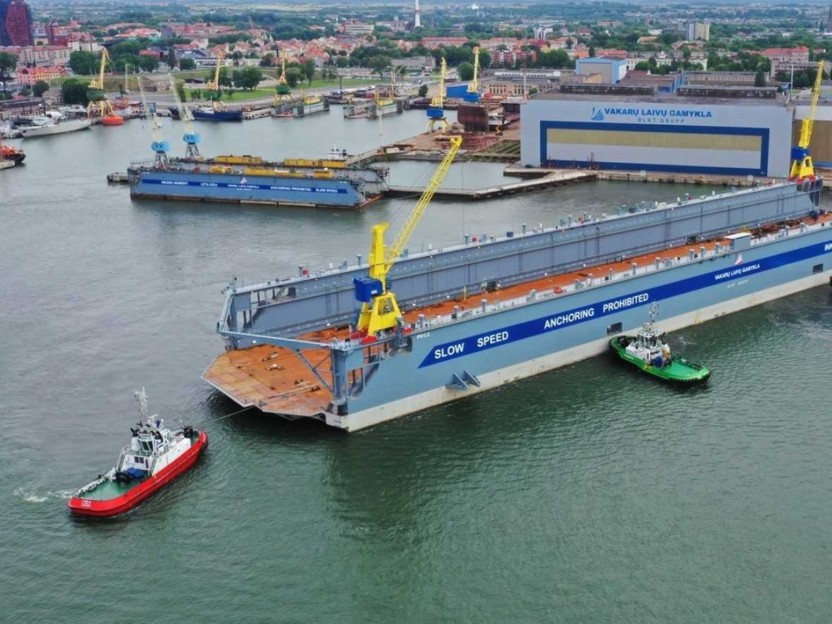 BLRT christens new dock with Minerva repairs