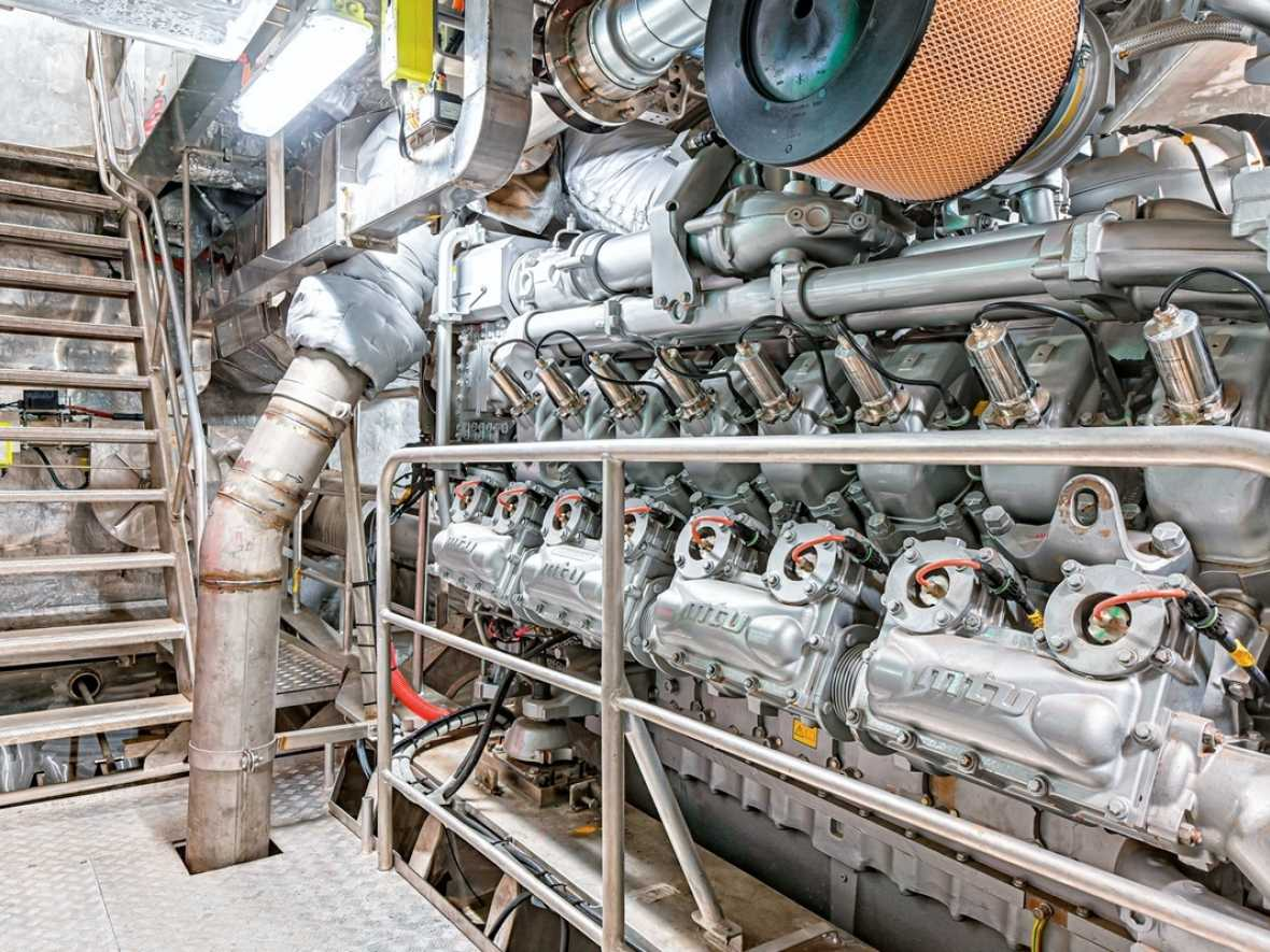 MTU gas engines debut in new ferries