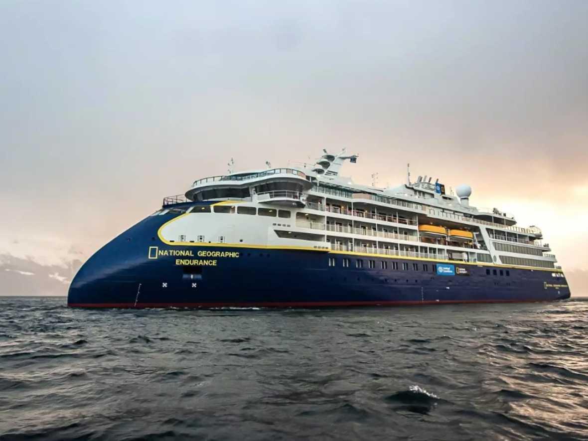 Linblad's first polar newbuild completes sea trials