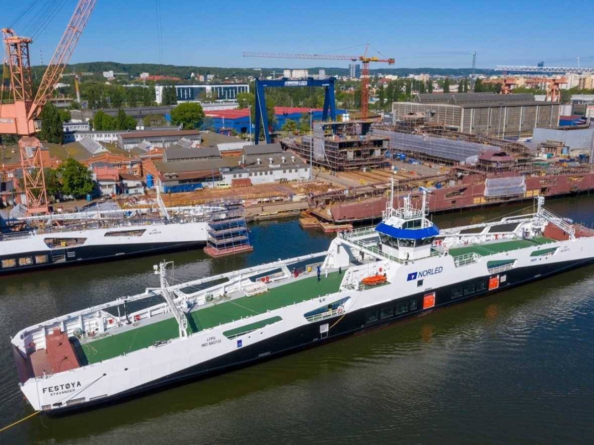 Remontowa launches last of four Norled ferries