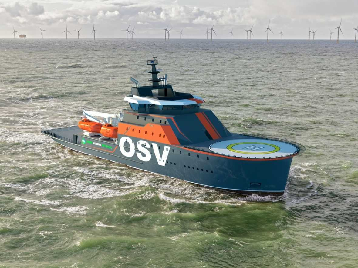 New Damen offshore concept offers versatility