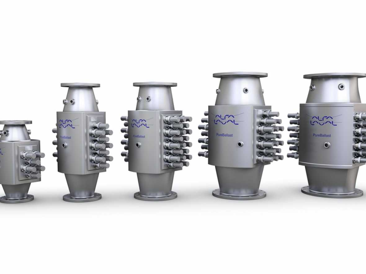 Alfa Laval signs contracts for 40 plus 40 ballast systems