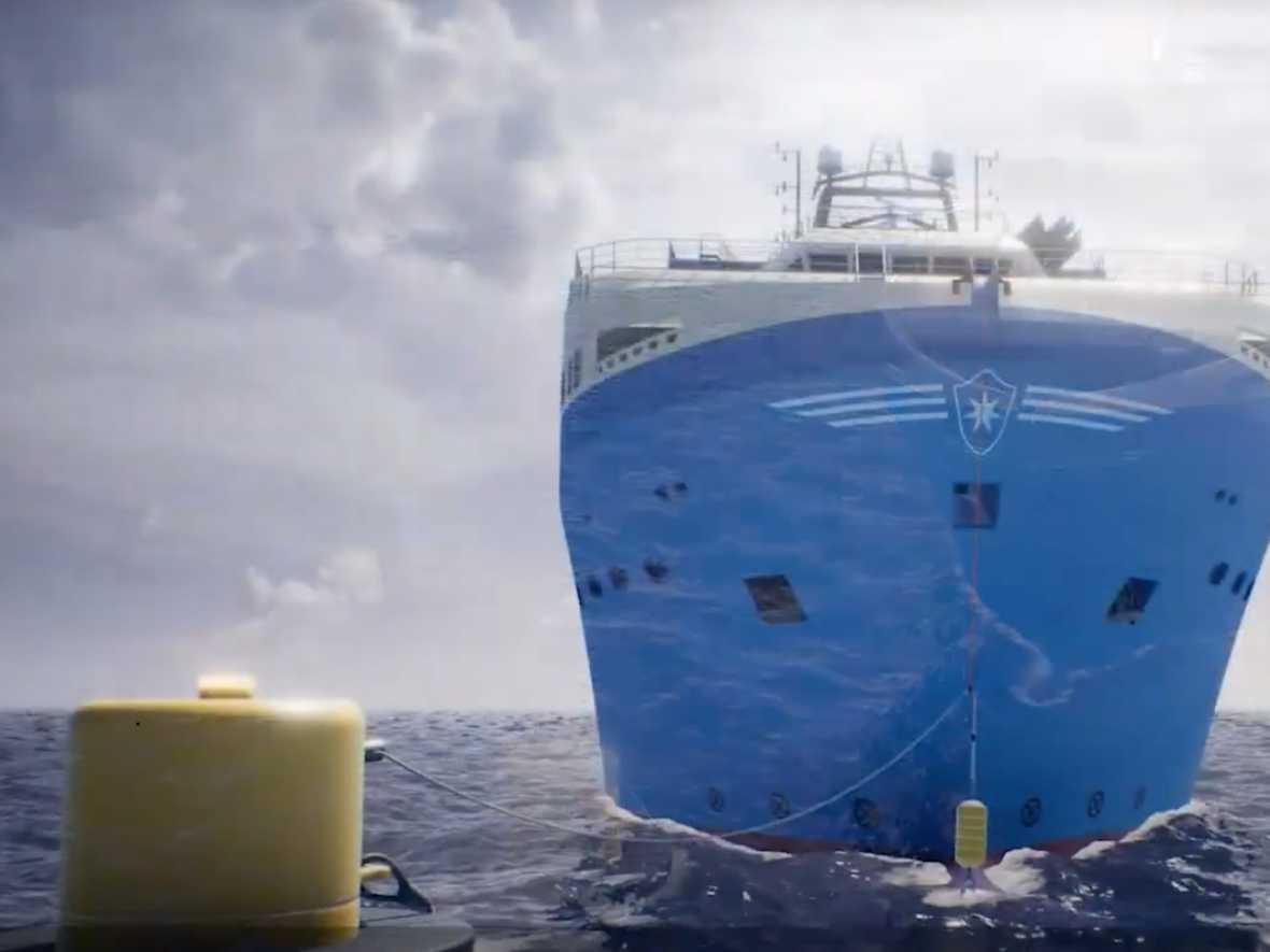 Maersk Supply Service and Ørsted partner in offshore power buoy project