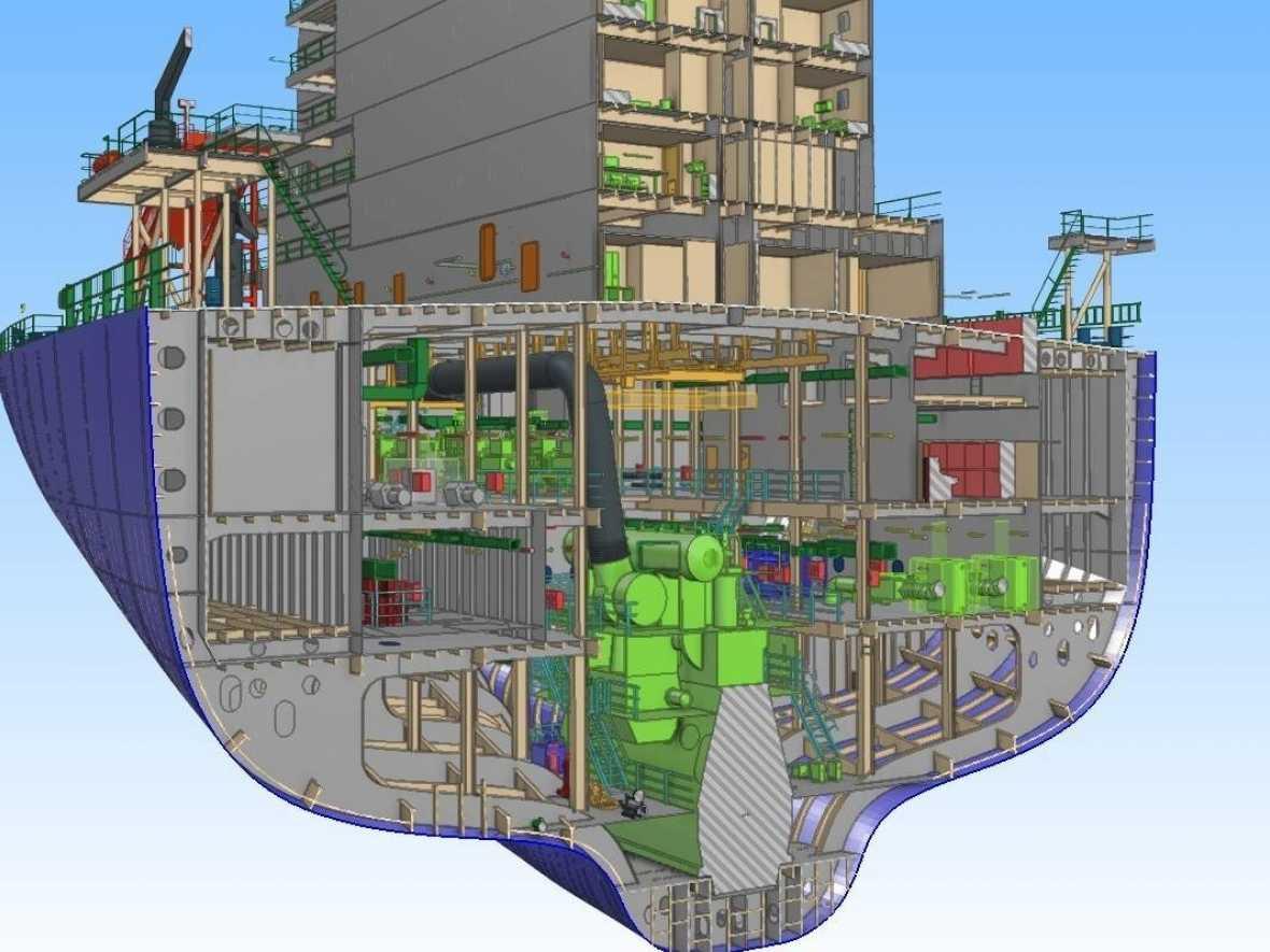 RINA MoU to create an interface to the SDARI 3D Ship Model