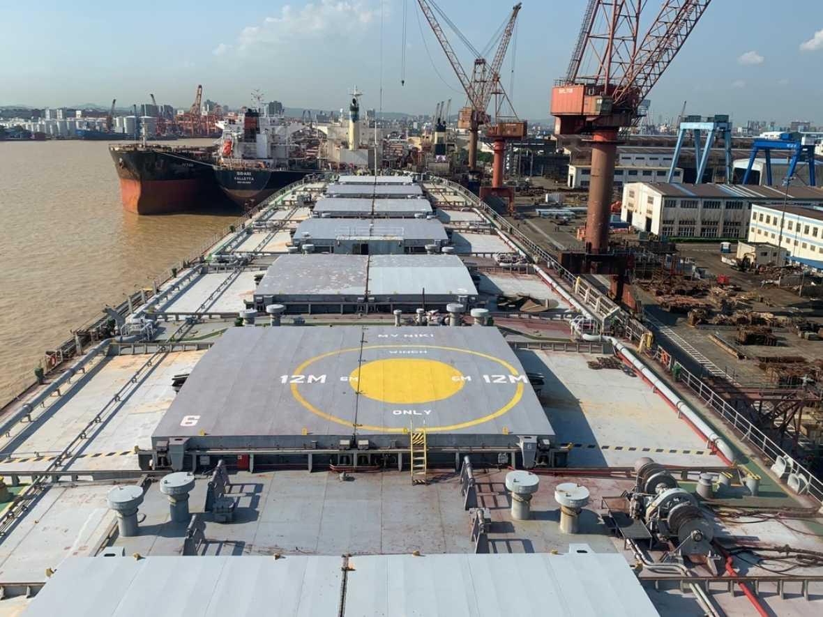 Rocktree wins transhipper conversion from SAFEEN