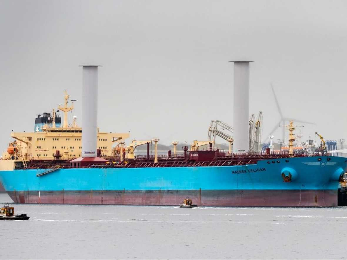 Rotor Sails meet expectations on Maersk Pelican